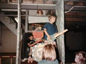 Patrick -- on guitar