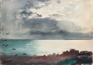 """Winslow Homer's """"Breaking Storm"""""""