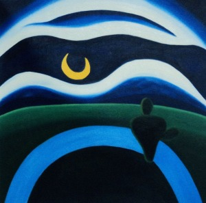The Moon - Tarsila do Amaral (1928)