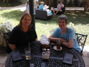 me and Margo (Guenther House; San Antonio)