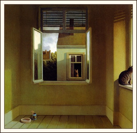 Midsummer Night's Melancholy by Michael Sowa
