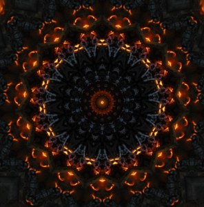 bonfire kaleidoscope (by Elizabeth)